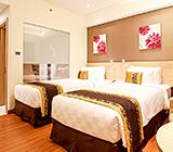 园景双床房